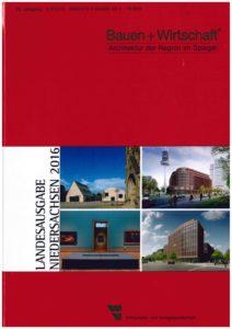 Bauen + Wirtschaft Landesausgabe Niedersachsaen 2016